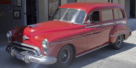 1950 Old's Woodie